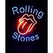 Rolling Stones Neon Sign